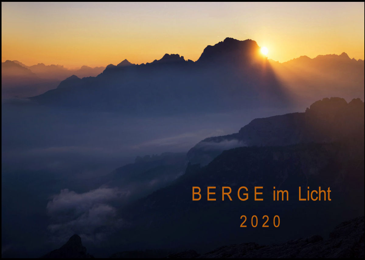 Kalendershop von Bergfotos.com